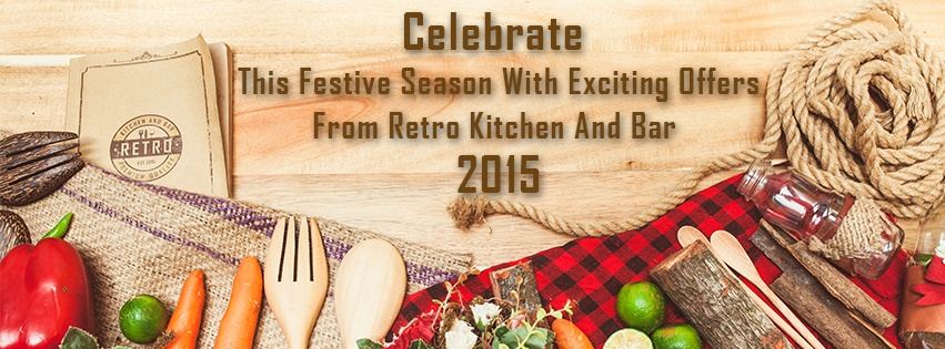 Celebrate This festive season with exciting offers from Retro Kitchen and Bar