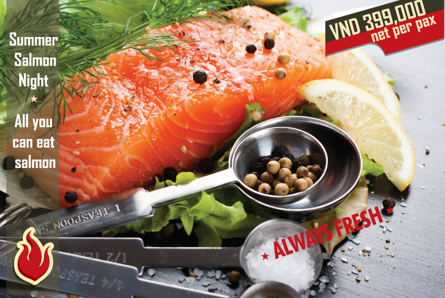 Summer Salmon Night – All you can eat salmon